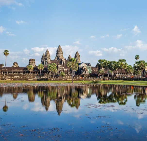 Mekong, Angkor Wat, Siem Reap, Cambodia