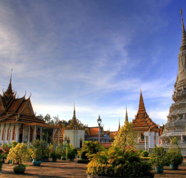 Royal Palace Complex, Phnom Penh,-Cambodia