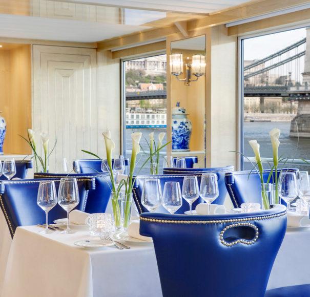Uniworld SS Beatrice Mozarts restaurant