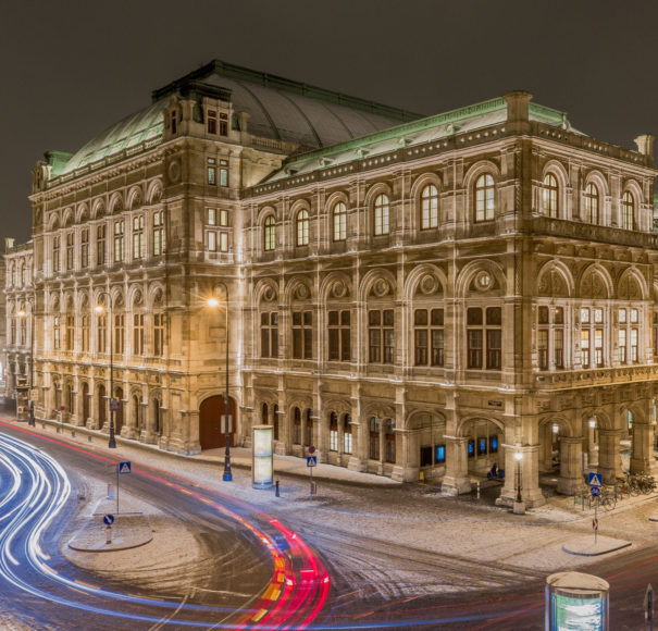 Vienna Opera House in Winter