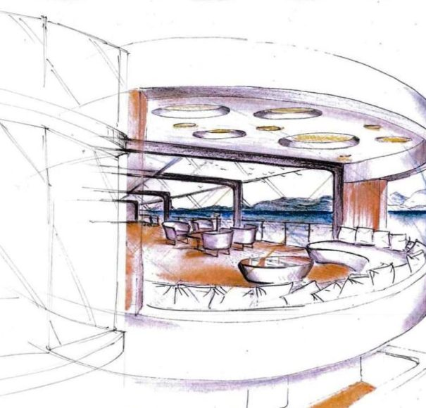 Amadeus Star Lounge Sketch