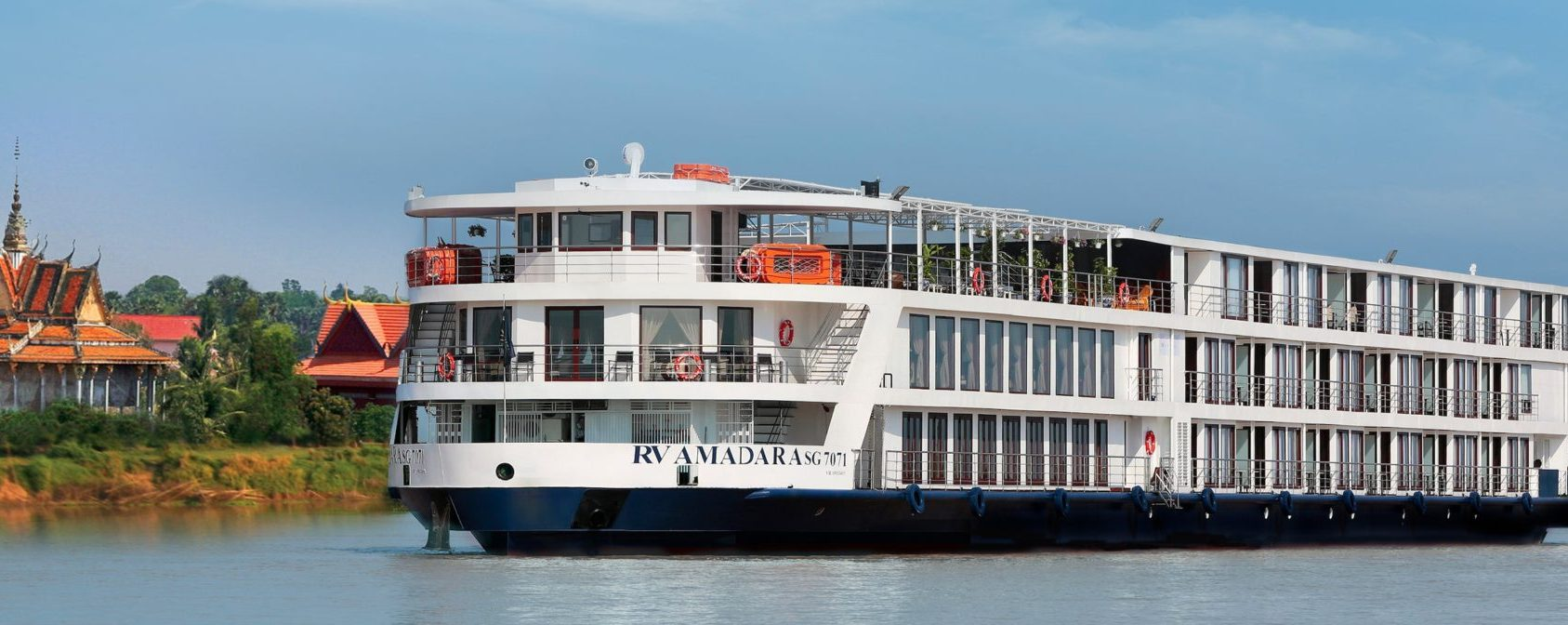 AmaWaterways AmaDara - Cruising the Mekong