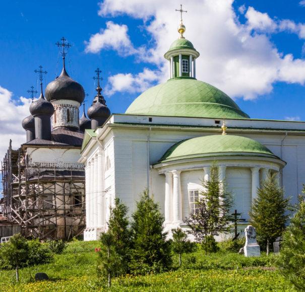Goritsy Monastery of Resurrection Vologda Russia