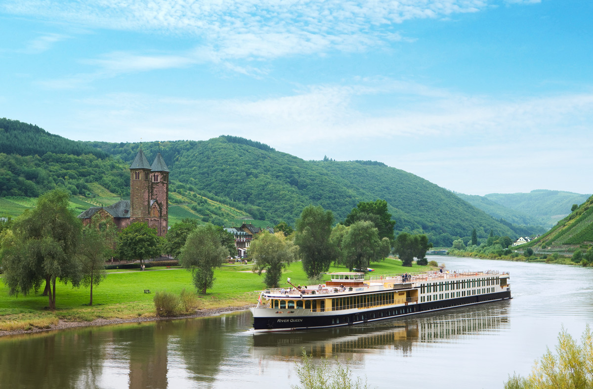 Uniworld River Queen on Moselle