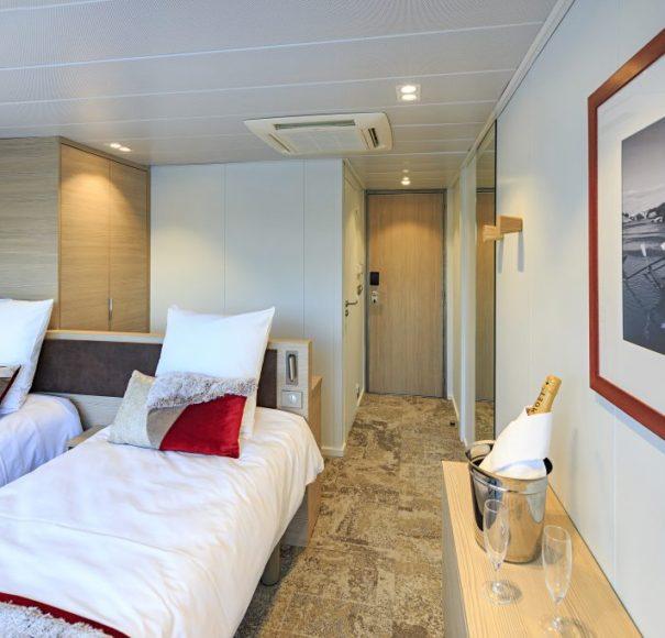 CroisiEurope MS Miguel Torga - Main Deck Cabin