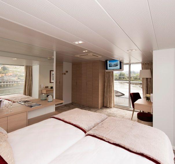 CroisiEurope MS Miguel Torga - Upper Deck Suite