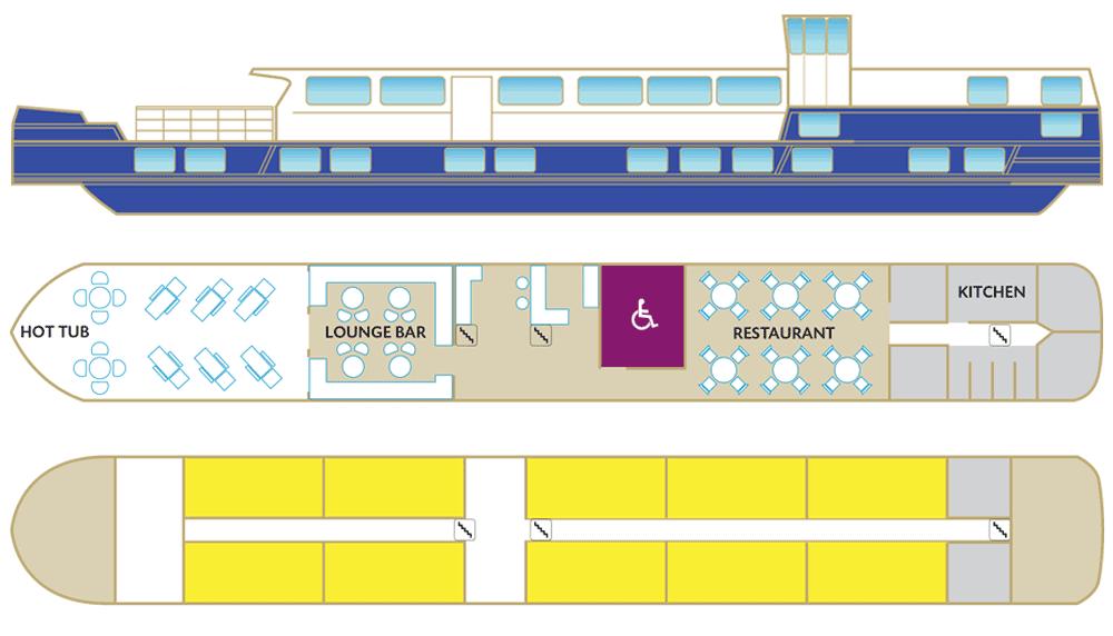 Raymonde - Deck-Plan