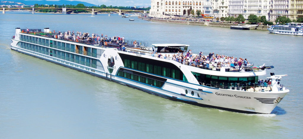 Riviera Travel - MS Geoffrey Chaucer river ship