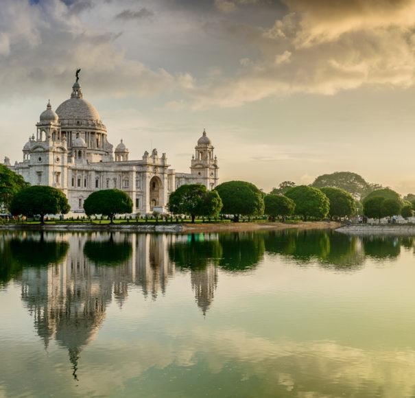 Beautiful Victoria Memorial, Kolkata , West Bengal, India