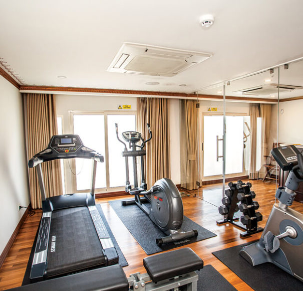 Ganges Voyager II - Fitness Room