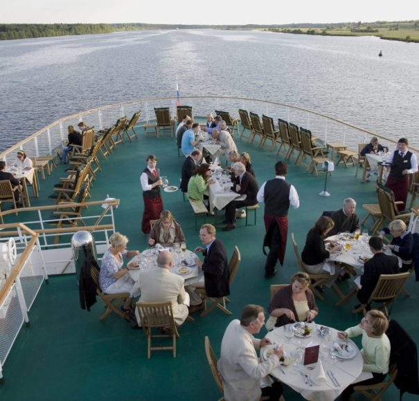 MS Volga Dream - Sun Deck BBQ