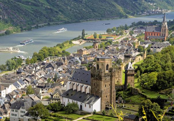 Oberwesel, Rhine River, Germany