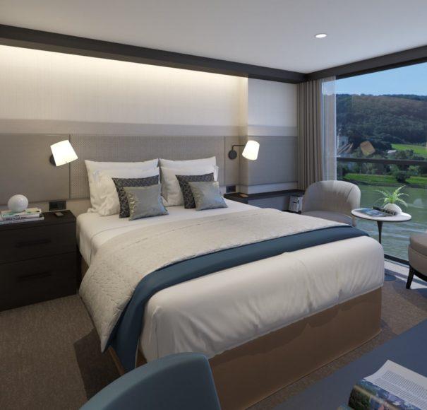 APT Travelmarvel Polaris - French Balcony Cabins C B B+ A A+ P ARTIST IMPRESSION