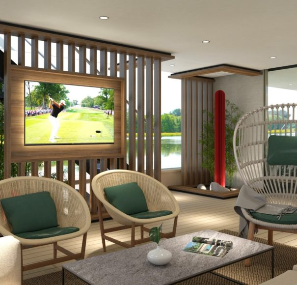 APT Travelmarvel Polaris - Lounge area ARTIST IMPRESSION