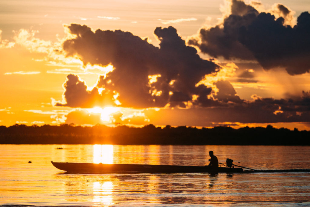 Peruvian Amazon River