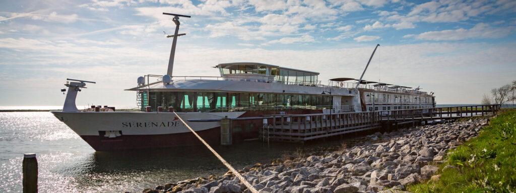 MS Serenade 1 river ship.  No fly river cruises available.