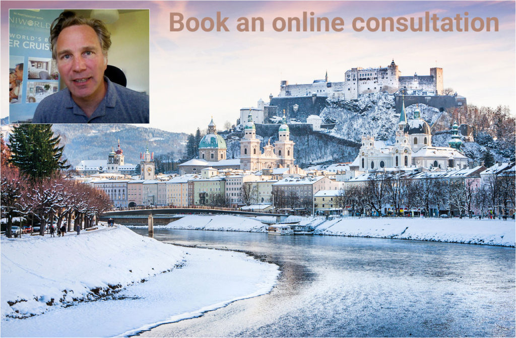 Global River Cruising online holiday consultation.  Picture of Simeon